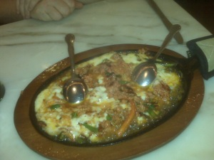 Cheese!  Queso Fundido!