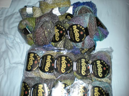 $150 worth of totally gorgeous yarn
