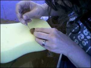 needle felting ann boleyn